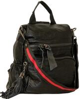 Рюкзак большой с кожей Farfalla Rosso* R 1829