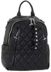 Рюкзак кожаный стеганный Polina & Eiterou W 18037-1j
